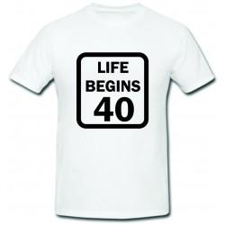 Life begins 40