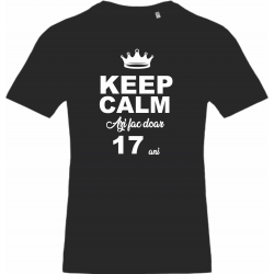 keep calm 17 ani