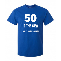 Tricou imprimat 50 IS THE NEW