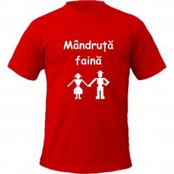 Tricou imprimat - Mandruta...
