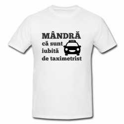 Tricou imprimat - Mandra ca...
