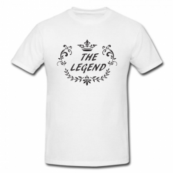 Tricou imprimat - The Legend