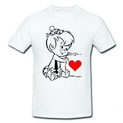 Tricou imprimat - Ne iubim...
