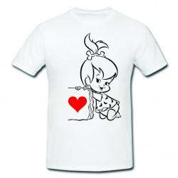 Tricou imprimat-Ne iubim fata